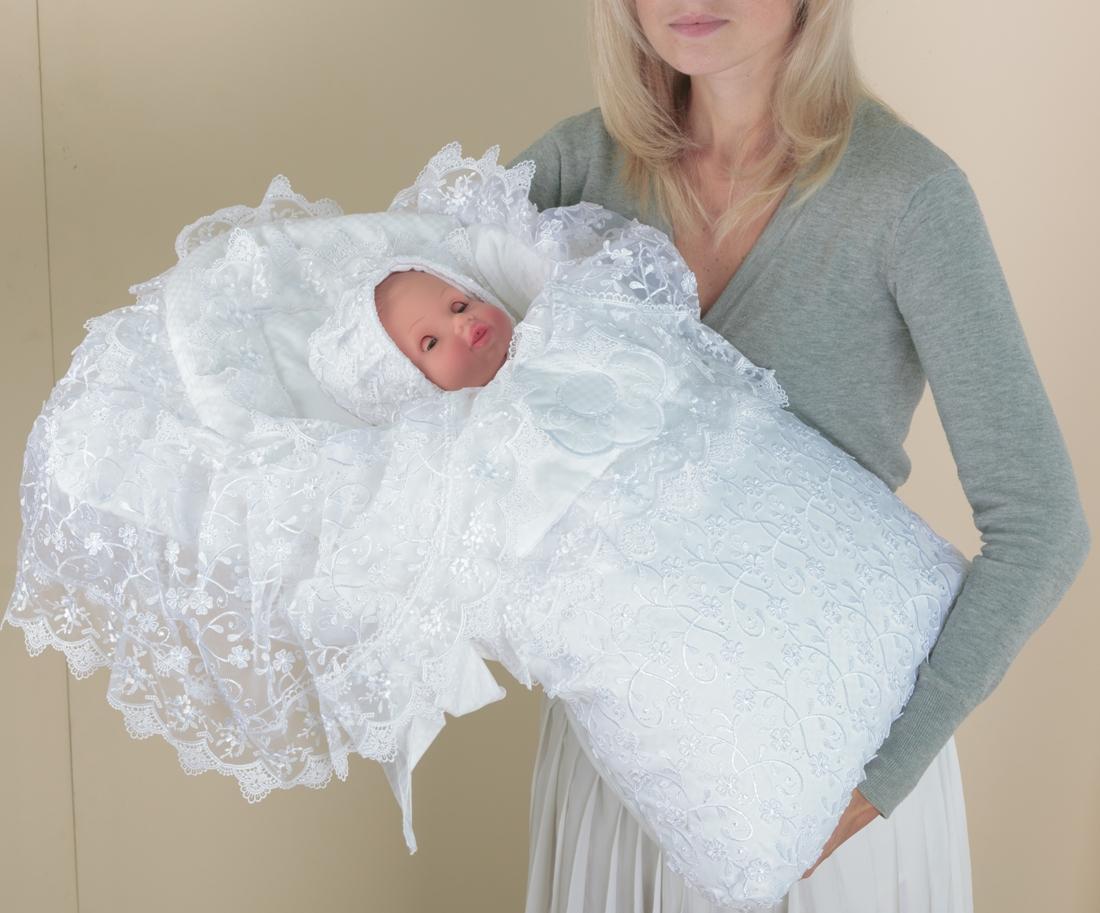 Конвертик для новорожденного на выписку 94