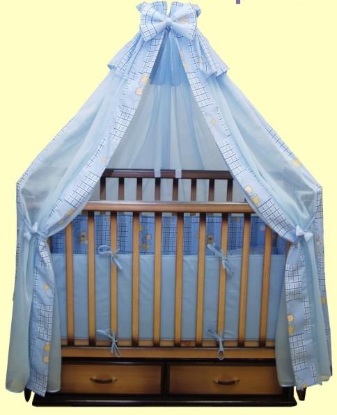 сшить бортики для детской кроватки.